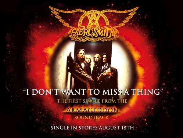 Aerosmith I Don't Want To Miss A Thing Free midi download