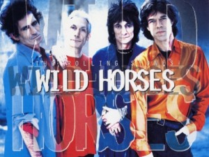 Chanson pop anglaise wild horses rolling stones