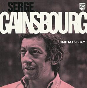 Chanson d'amour poétique Gainsbourg Initials BB
