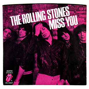 Chanson d'amour disco rock Miss You the Rolling Stones