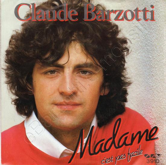 Chanson d'amour secret - Claude Barzotti - Madame