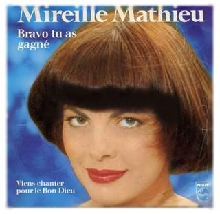 Chanson d'amour de Mireille de Mathieu