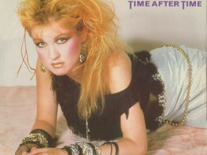Cindy Lauper - Time after Time Chanson sur le temps qui passe