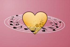 Chansons d'amour avec Je t'aime pour la Saint Valentin